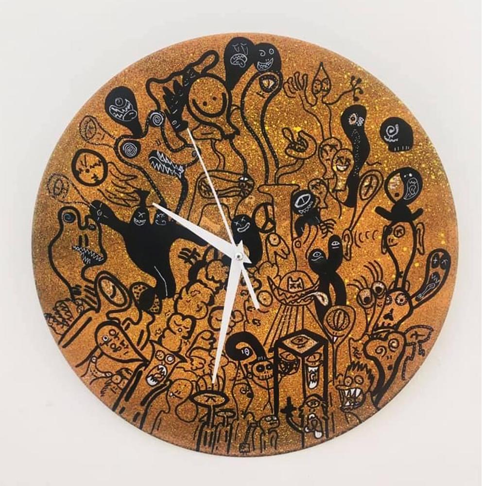 Antek Dumala clock 1