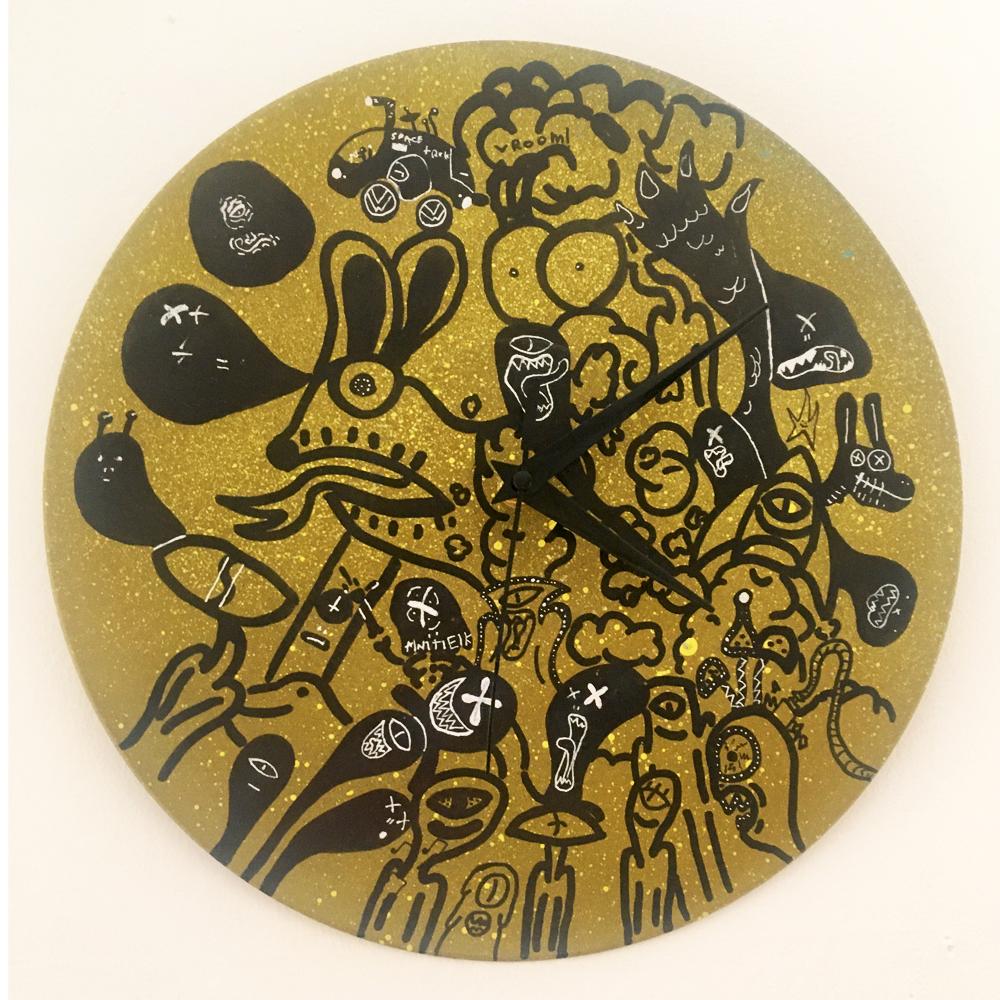 Antek Dumala clock 2